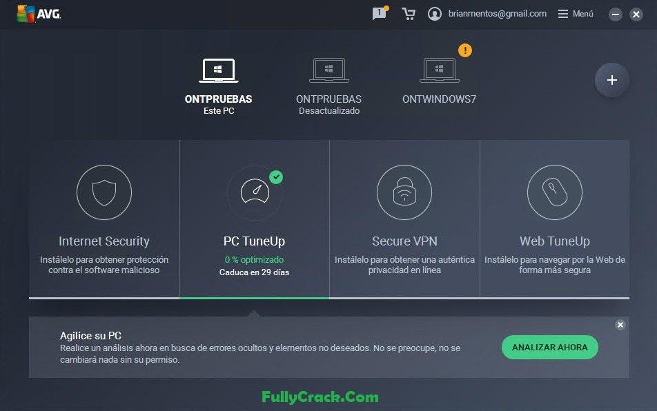 AVG PC TuneUp Product Key