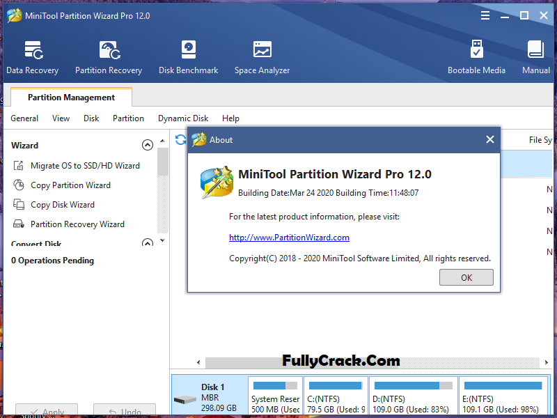 MiniTool Partition Wizard Keygen