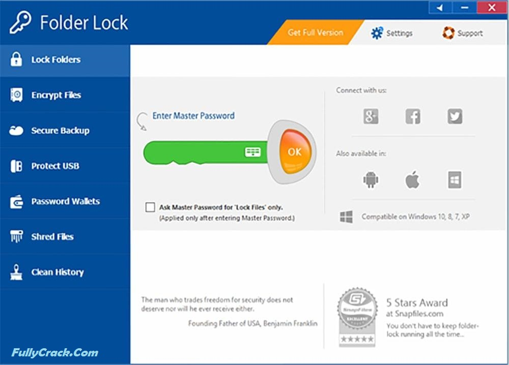 Folder Lock Registration Key