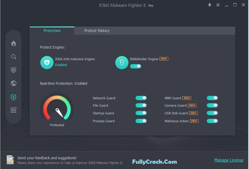 IObit Malware Fighter Pro License Key