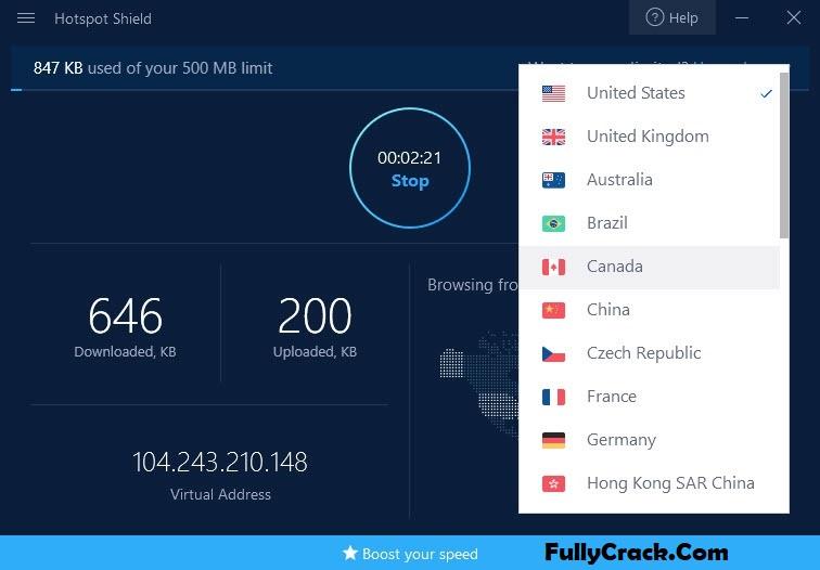 Hotspot Shield VPN License Key