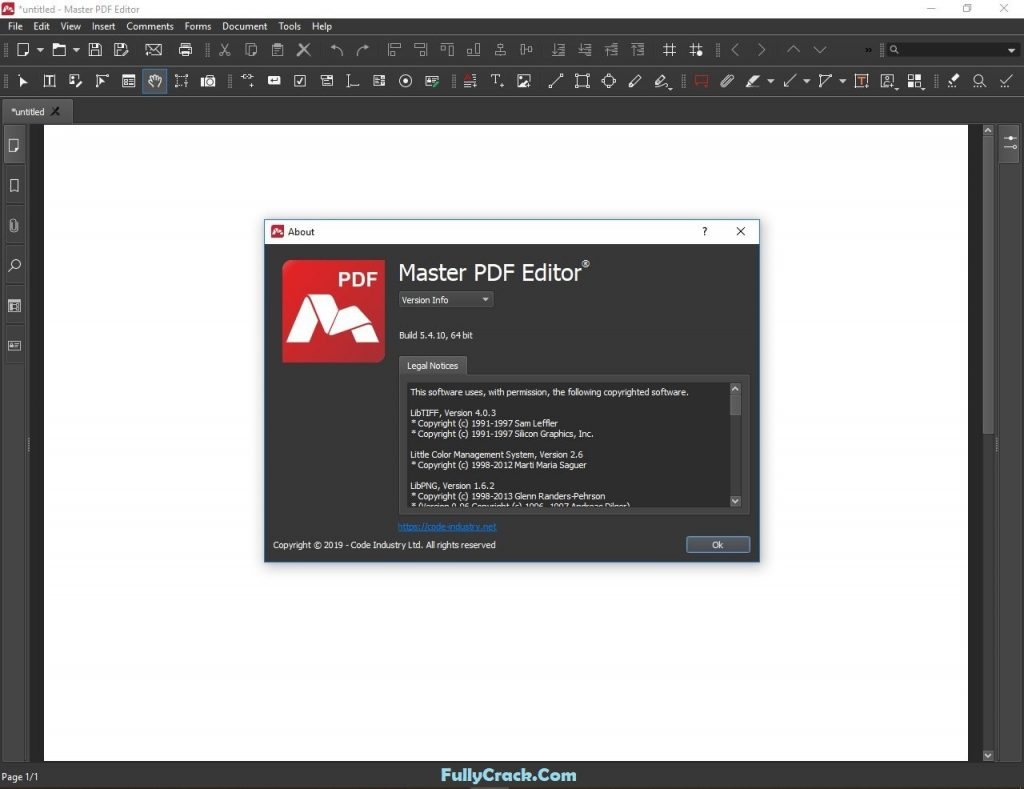 Master PDF Editor Crack 5.6.49 & Registration Code [Latest]