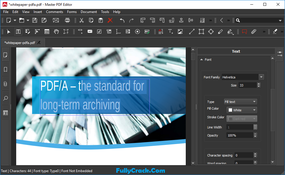 Master PDF Editor Crack 5.6.49 & Registration Code [Latest]