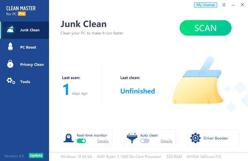 Clean Master Pro License Key