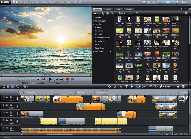 MAGIX Movie Edit Pro Serial Number